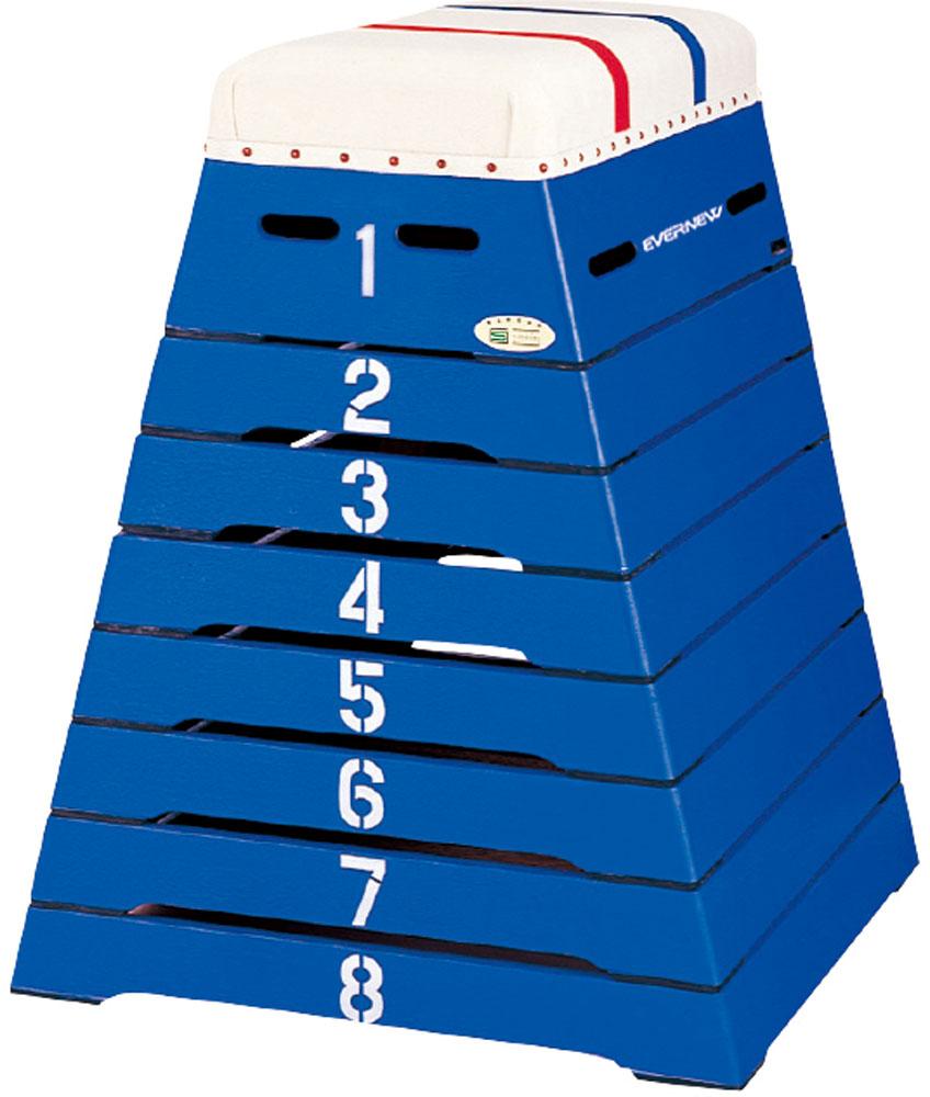 【送料無料】エバニュー とび箱 M‐100C ブルー EVERNEW EKF306 700