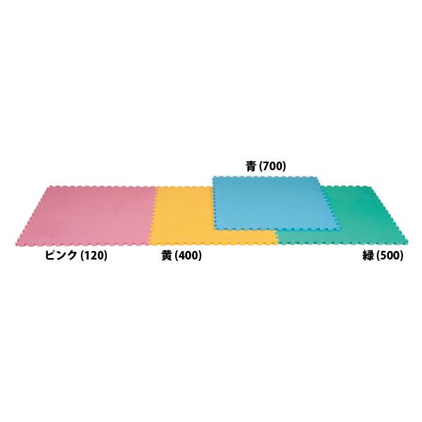 エバニュー 防炎クッションフロアマット ピンク EVERNEW EKH103 120