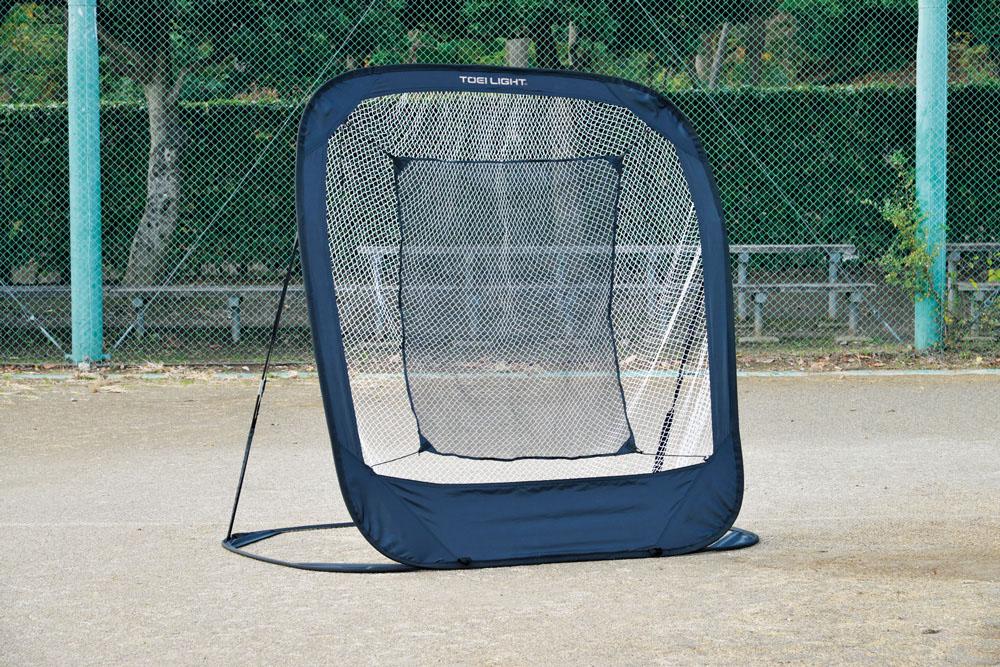 【送料無料】トーエイライト 折りたたみ式バッティングネット TOEILIGHT B2258 野球 野球練習用具 バッティングネット