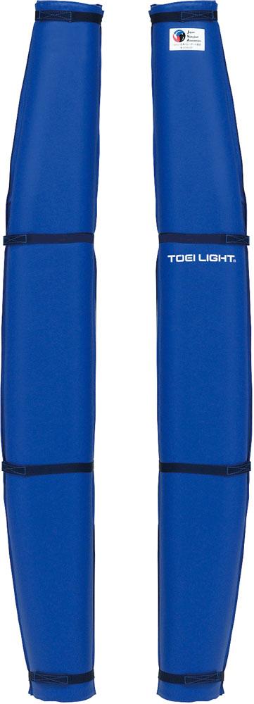 送料無料 トーエイライト バレーポールカバーR型DX 高級 青 TOEILIGHT 特売 B2250B ブルー