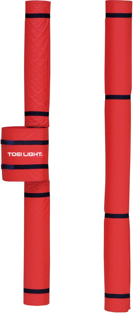 トーエイライト バレーポールカバーFV 赤 レッド TOEILIGHT B2049R バレーボール 設備、備品
