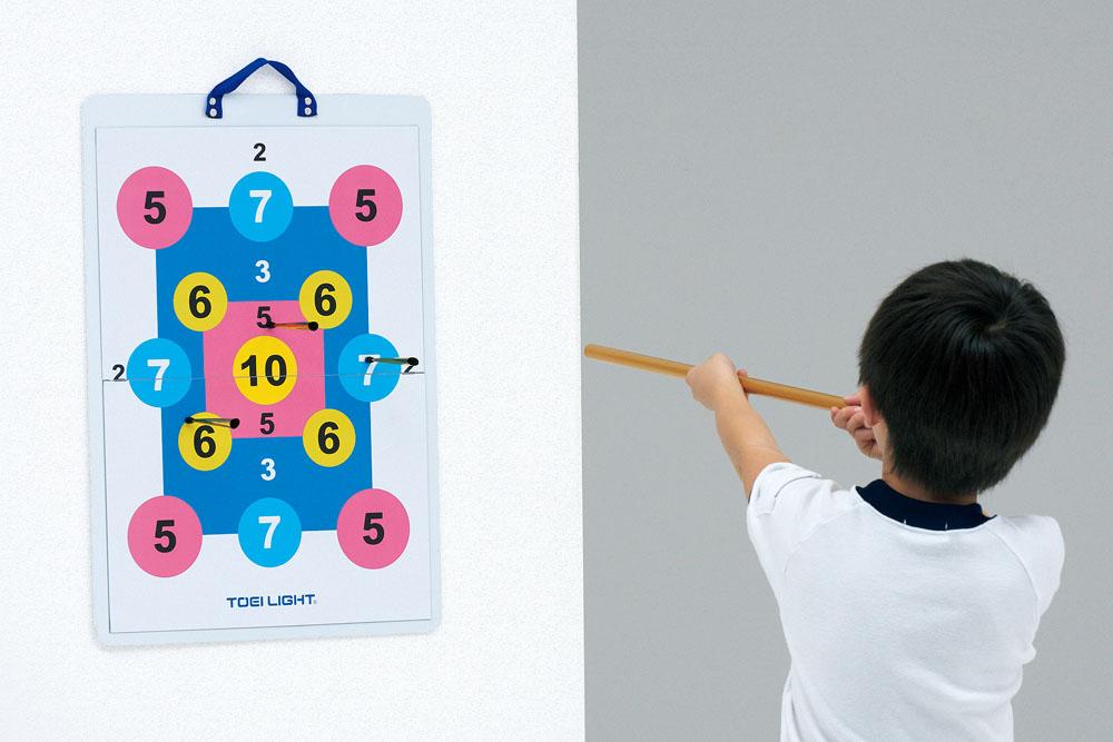 【送料無料】トーエイライト マグネット吹矢(A2サイズ) TOEILIGHT B2516 体育器具、用品 その他体育器具