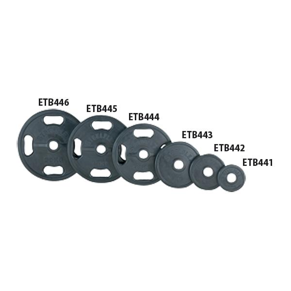 エバニュー 50φラバープレート15kg EVERNEW ETB445