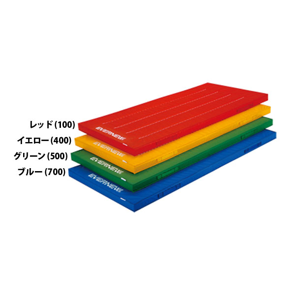 エバニュー 屋内外兼用体操マット 120×240 レッド EVERNEW EKM415 100