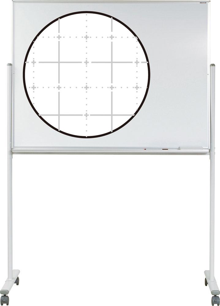 エバニュー ホワイトボード暗線入り 片面1200S EVERNEW EKU502