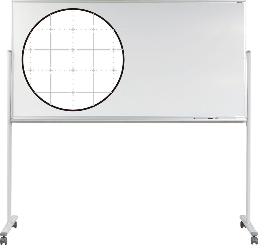 エバニュー ホワイトボード暗線入り 片面1800S EVERNEW EKU506