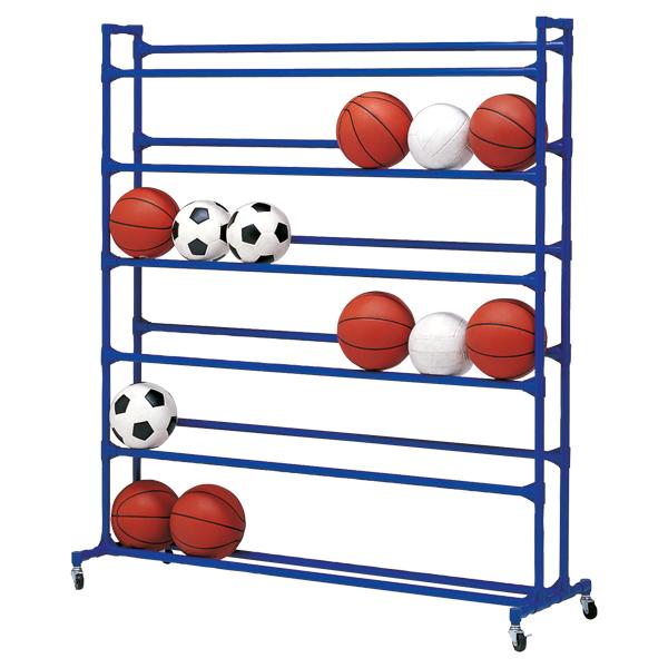 【送料無料】トーエイライト ボール整理棚 YZ6 TOEILIGHT B5045 体育器具、用品 その他体育器具