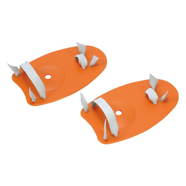 トーエイライト 買物 スイムハンドパドル Mサイズ TOEILIGHT B3574M オレンジ 人気急上昇
