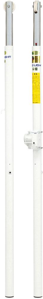 【送料無料】トーエイライト バレー支柱 AC-W 床下25cm TOEILIGHT B5991A バレーボール 設備、備品