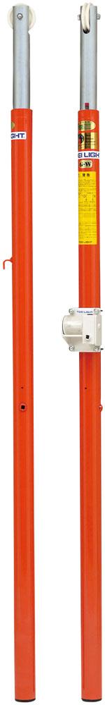 【送料無料】トーエイライト バレー支柱 AC-R 床下27cm TOEILIGHT B5992B バレーボール 設備、備品