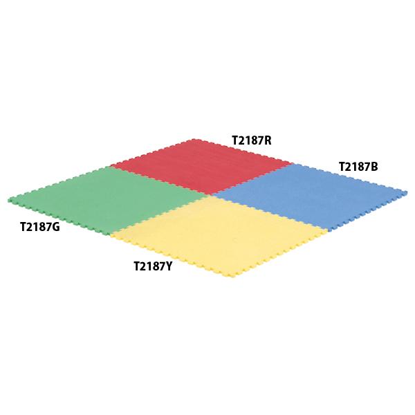 【送料無料】トーエイライト 抗菌ジョイントマットSC15(赤) レッド TOEILIGHT T2187R 体育器具、用品 体育マット、シート