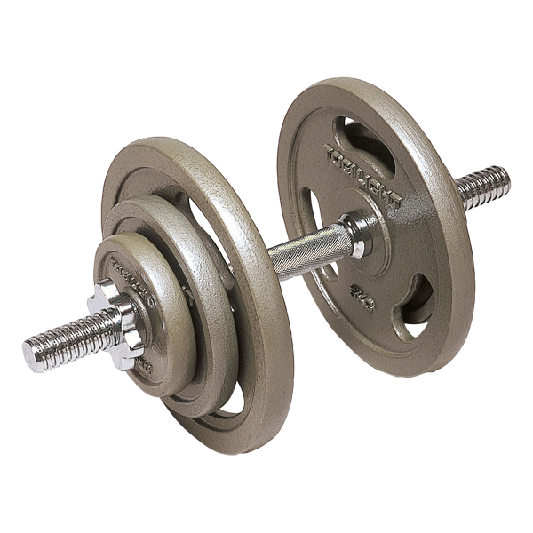 【送料無料】トーエイライト ダンベル20kgセット TOEILIGHT H9275 フィットネス、トレーニング ウエイトトレーニング ダンベル、鉄アレイ