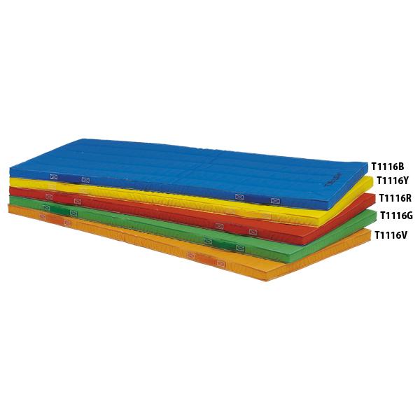 【送料無料】トーエイライト エコカラーノンスリップマット(青) ブルー TOEILIGHT T1116B 体育器具、用品 体育マット、シート