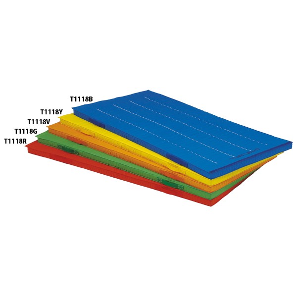 【送料無料】トーエイライト エコカラーノンスリップ連結式マット(青) ブルー TOEILIGHT T1118B 体育器具、用品 体育マット、シート