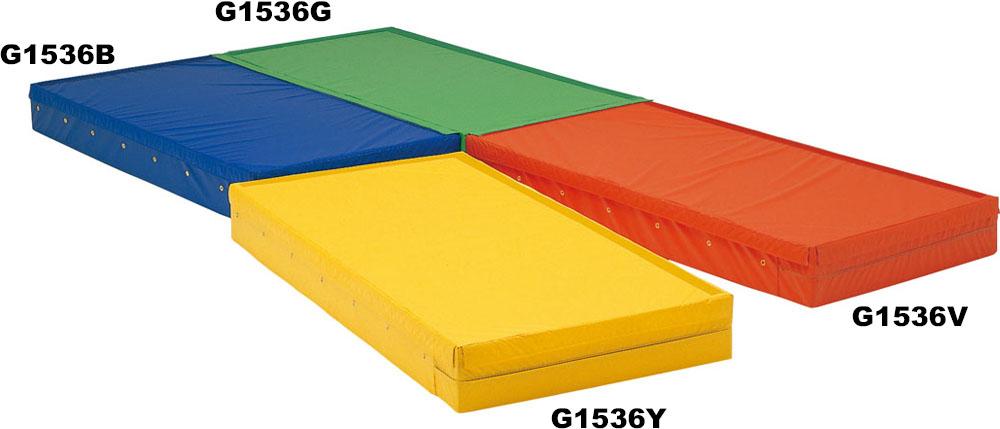 【送料無料】トーエイライト 連結式エバーマット・ノンスリップ(緑) グリーン TOEILIGHT G1537G 体育器具、用品 体育マット、シート