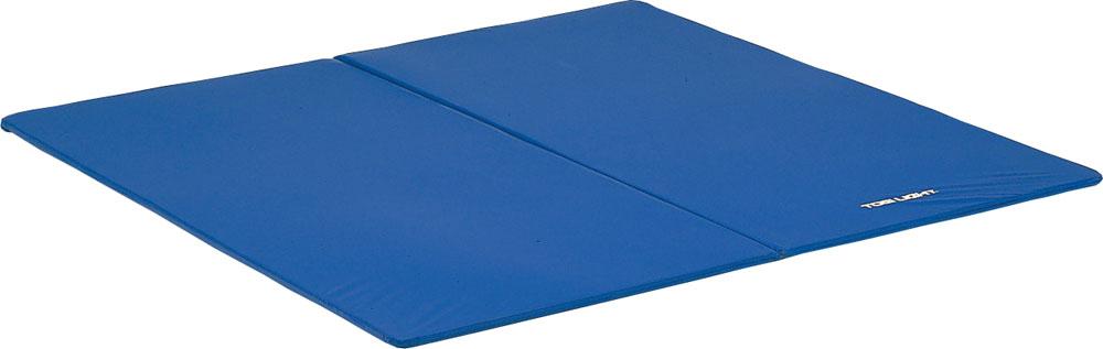 【送料無料】トーエイライト ストレッチマットF180DX ブルー TOEILIGHT H7481B 体育器具、用品 体育マット、シート