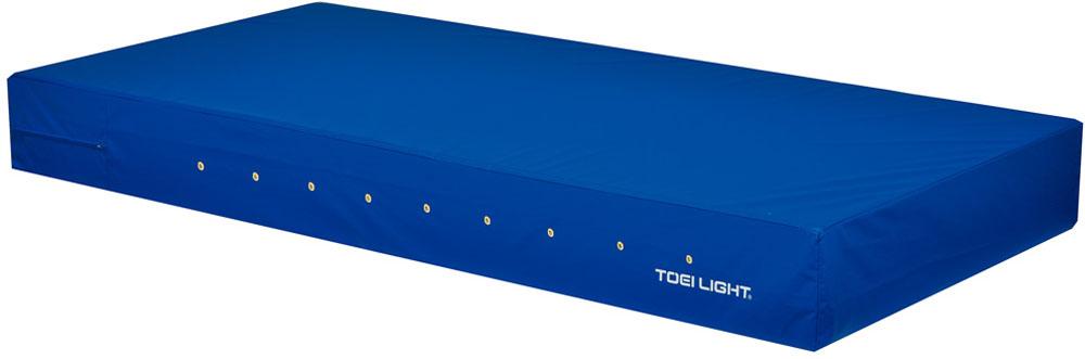 トーエイライト カラーエバーマット・すべり止め付 90×180×20 青 ブルー TOEILIGHT G1697B 体育器具、用品 体育マット、シート