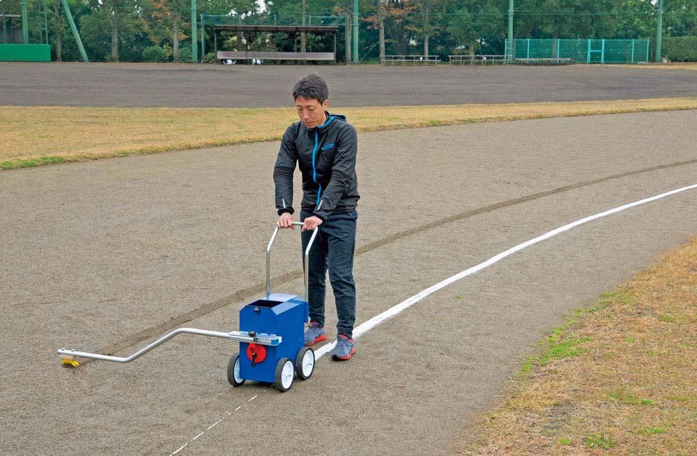 【送料無料】トーエイライト ライン引きブラシライナー TOEILIGHT G1656 体育器具、用品 ライン引き
