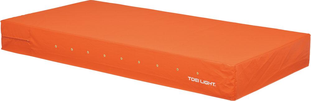 トーエイライト カラーエバーマット・すべり止め付 90×180×10 オレンジ オレンジ TOEILIGHT G1696V