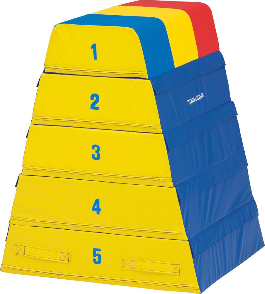 【送料無料】トーエイライト ソフト跳び箱5段 TOEILIGHT T1840 体育器具、用品 とび箱
