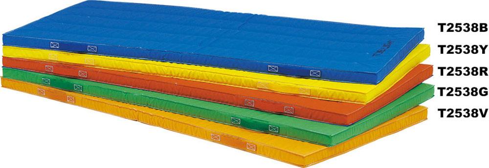 【送料無料】トーエイライト 抗菌エコカラーマット(青) ブルー TOEILIGHT T2538B 体育器具、用品 体育マット、シート