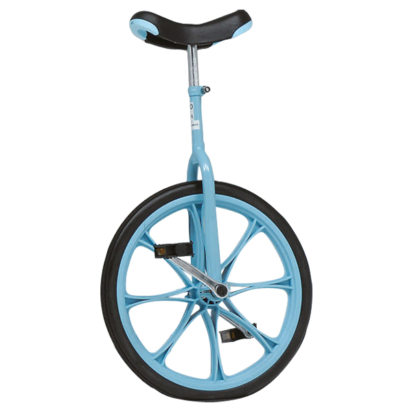 【送料無料】トーエイライト ノーパンク一輪車20(青) ブルー TOEILIGHT T2498B 体育器具、用品 その他体育器具