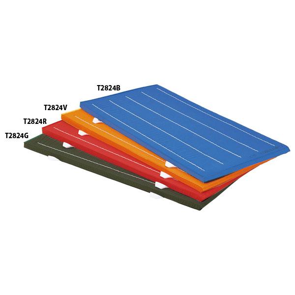 【送料無料】トーエイライト 抗菌再生カラー連結式マット(赤) レッド TOEILIGHT T2824R 体育器具、用品 体育マット、シート