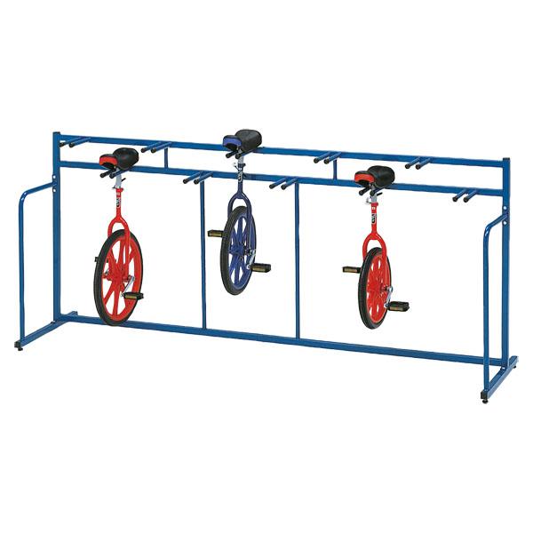 トーエイライト 一輪車ラックKH10 TOEILIGHT T2838 体育器具、用品 その他体育器具