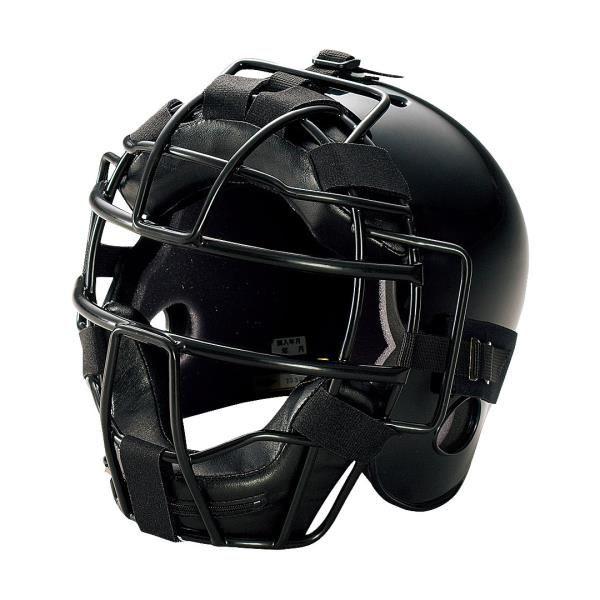 アシックス ジュニア硬式用キャッチャーズヘルメット ブラック asicsBB BPH340 90
