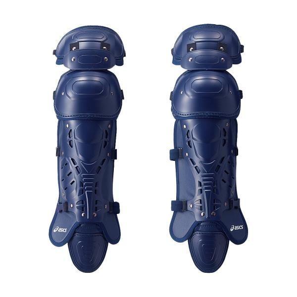 アシックス ジュニア硬式用レガーズ(セミトリプルカップ) ネイビー asicsBB BPL330 50