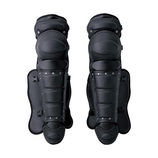 アシックス 硬式用レガース(ダブルカップ) ブラック asicsBB BPL230 90