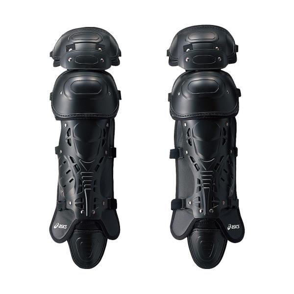アシックス ジュニア硬式用レガーズ(セミトリプルカップ) ブラック asicsBB BPL330 90