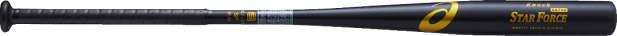 アシックス STAR FORCE スターフォース(ノック用金属製バット) ブラック asicsBB BB9111 90
