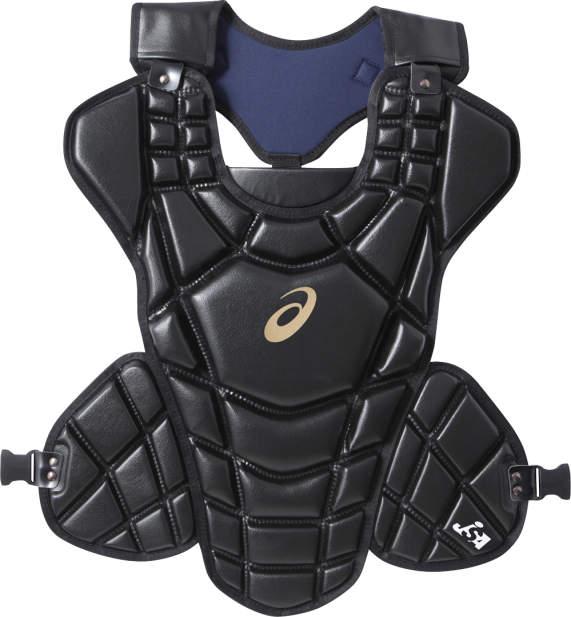 アシックス <ゴールドステージ>ソフトボール用プロテクター ブラック asicsBB BPP670 90