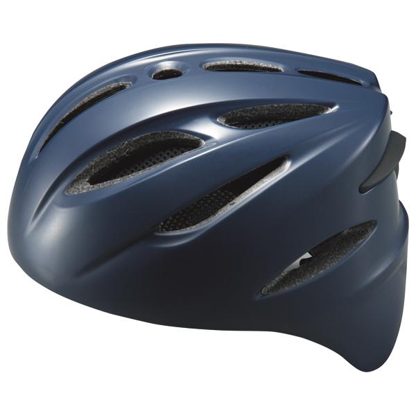ゼット ソフト捕手用ヘルメット BHL40S ネイビー ZETT BHL40S 2900
