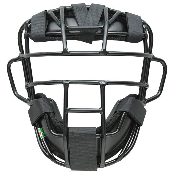 【送料無料】ゼット 大人・中学軟式野球用マスク プロステイタス(SG基準対応) ブラック ZETT BLM3295A 1900