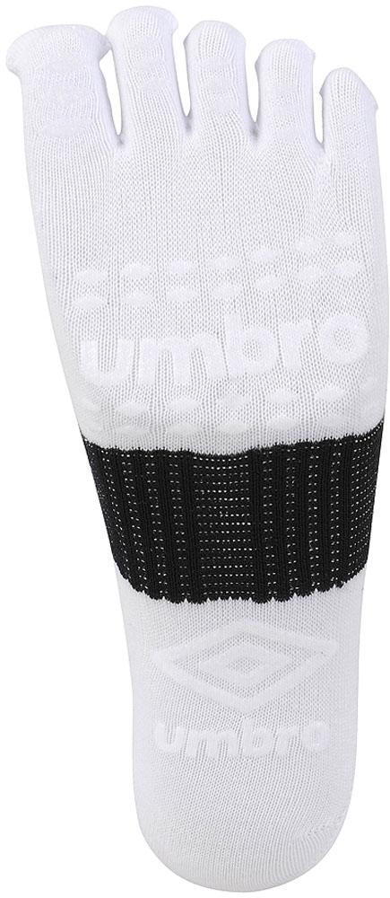 アンブロ 男女兼用 ジュニア セール サッカー フットサルソックス 大規模セール FG5フィンガーミドルソックス UAS8622 WBK ホワイト×ブラック UMBRO