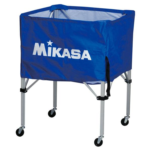 ミカサ ワンタッチ式ボールカゴ(フレーム・幕体・キャリーケース3点セット) ブルー MIKASA BCSPS BL