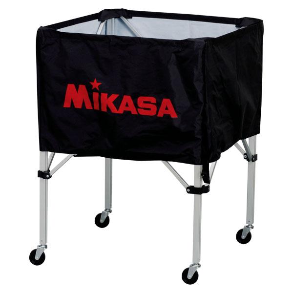 ミカサ ワンタッチ式ボールカゴ(フレーム・幕体・キャリーケース3点セット) ブラック MIKASA BCSPS BK