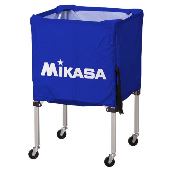 【送料無料】ミカサ ワンタッチ式ボールカゴ3点セット(フレーム・幕体・キャリーケース) ブルー MIKASA BCSPSS BL