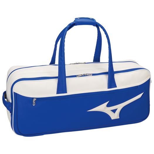 ミズノ トーナメントバッグ ブルー×ホワイト Mizuno 63JD8002 27