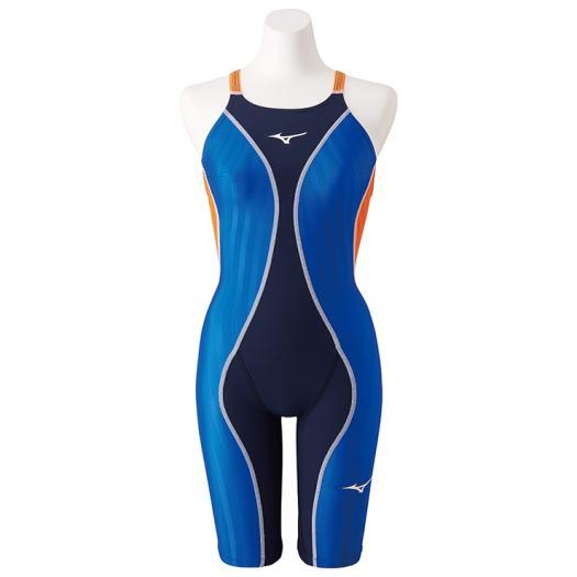 【送料無料】ミズノ 競泳用FX・SONIC+ ハーフスーツ[レディース] ブルー Mizuno N2MG9230 27