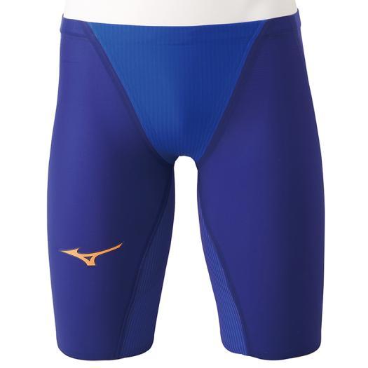 ミズノ 競泳用GX・SONIC IV MR ハーフスパッツ メンズ ブルー Mizuno N2MB9002 27