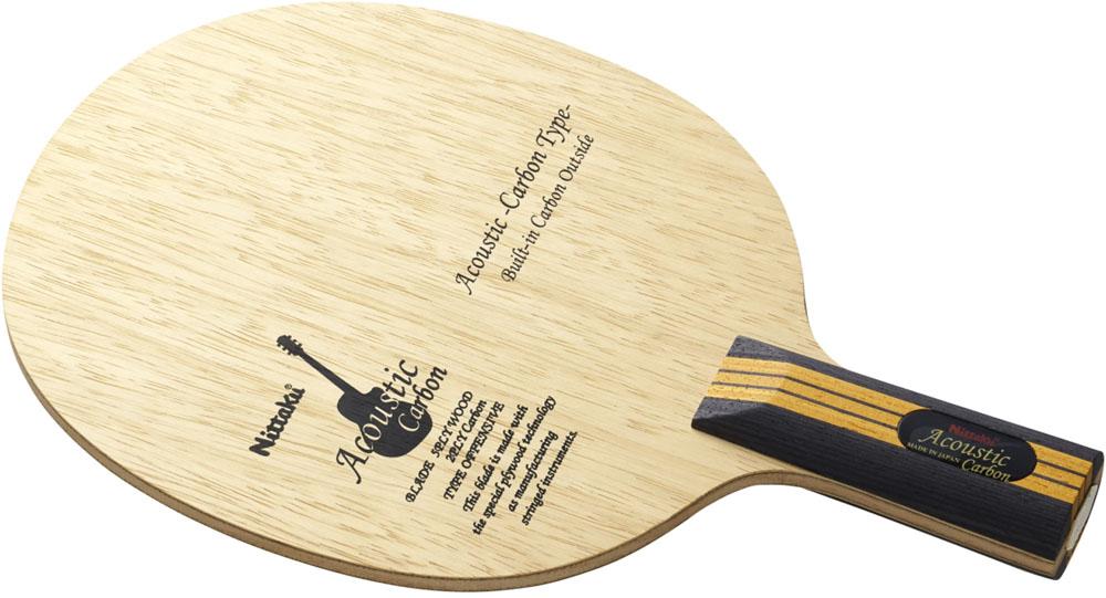 【送料無料】ニッタク(日卓) 【卓球 中国式ペンラケット】 アコースティックカーボンC Nittaku NC0179