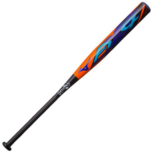ミズノ ソフトボール用ミズノプロ AX4(FRP製/84cm)(3号/ゴムボール用) オレンジ×ブラック Mizuno 1CJFS30784 5409