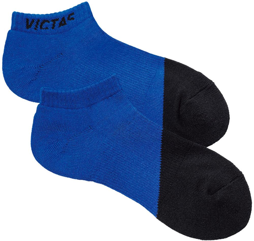 ヴィクタス VICTASソックス V-SX047 男女兼用 卓球用 BK×BL VICTAS 037454 0022