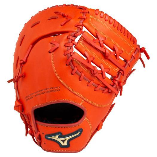 【送料無料】ミズノ 軟式用セレクトナイン一塁手用/TK型 スプレンディッドオレンジ Mizuno 1AJFR22700 52