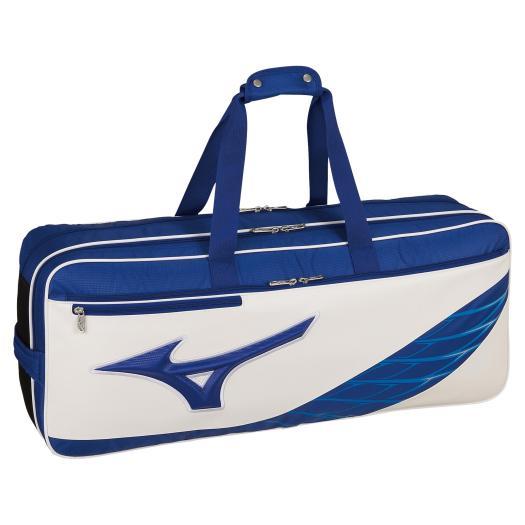 送料無料 ミズノ トーナメントバッグ ブルー×ホワイト Mizuno 最安値 SALE開催中 27 73JD9512