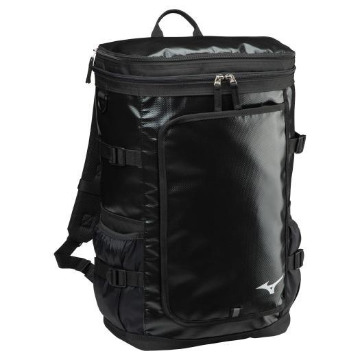 ※アウトレット品 送料無料 ミズノ ターポリンバックパック 30L ブラック NEW ARRIVAL 33JD0105 09 Mizuno