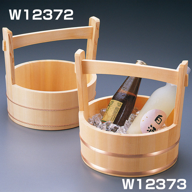 【送料無料♪】岡持型冷酒クーラー ネジタガ [W12372](酒の器)